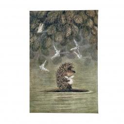 фото Обложка для автодокументов Mitya Veselkov «Ежик плывет»