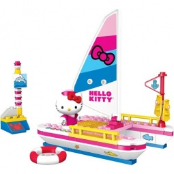 фото Игровой набор Mega Bloks Hello Kitty «Яхта»