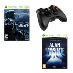 Купить Геймпад для Microsoft Xbox 360 и игры Halo ODST/Alan Wake