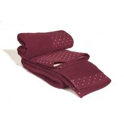 фото Комплект полотенец из махры Tete-a-Tete Т-МП-7451-04. Цвет: бордовый