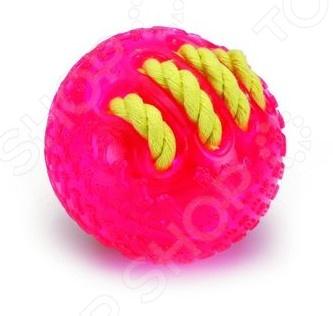 Игрушка для собак Beeztees «Мяч с вшитой веревкой» 625830
