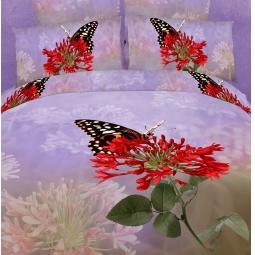 фото Комплект постельного белья Buenas Noches Mirage. Satin Fotoprint. Евро