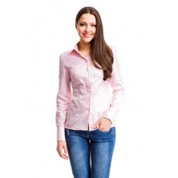 фото Блузка Mondigo 6066. Цвет: бледно-розовый. Размер одежды: 48