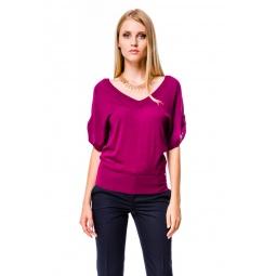 фото Джемпер Mondigo 9767. Цвет: лиловый. Размер одежды: 44