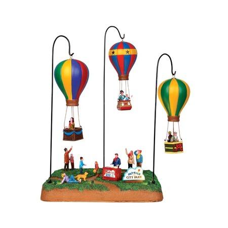 Купить Фигурка керамическая анимированная Lemax «Воздушные шары»