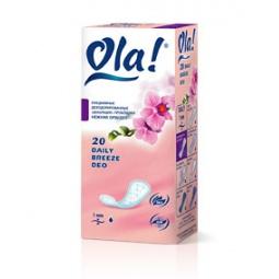 фото Ежедневные прокладки Ola Daily Breeze DEO. Вид: Нежная орхидея (20 шт.)