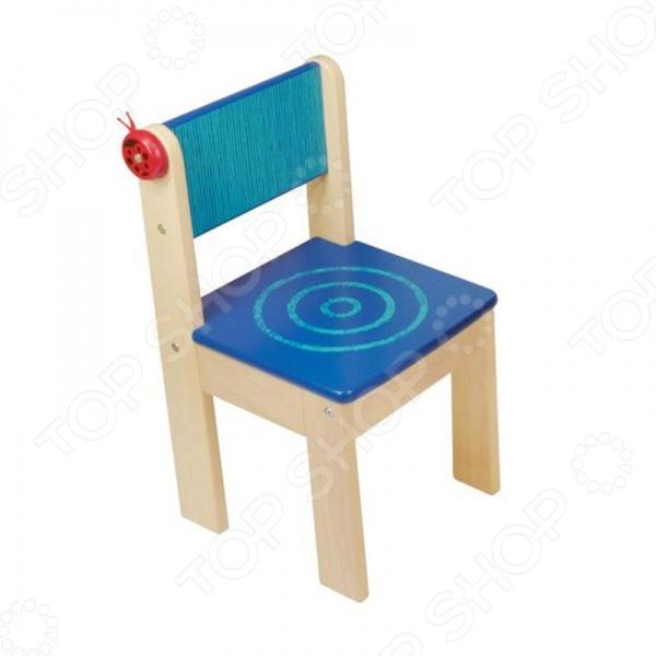 Стульчик с кармашком для мелочей I 39;m toy 42022 это удобный и прочный стульчик для вашего малыша в возрасте от трёх до семи лет. Вы можете использовать его самостоятельно или же в комплекте с детской мебелью. За спинкой располагается кармашек из ткани, в который малыш может складывать различные небольшие вещи, безделушки, детали игрушек, которые так важны и необходимы для маленьких следопытов.