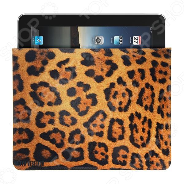 Чехол для iPad Mitya Veselkov «Леопардовый принт» чехлол для ipad iphone mitya veselkov чехол для ipad райский сад ip 08