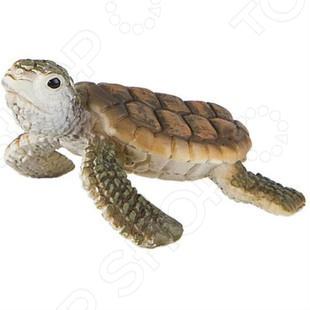 Фигурка Bullyland «Морская черепашка»Игрушечные животные<br>Фигурка Bullyland Морская черепашка отличный подарок не только для детей, но и взрослых. Качество исполнения и внимание к деталям делают это изделие замечательным как для игровых, так и коллекционных целей. Серия фигурок от Bullyland представлена многочисленными видами домашних, диких и даже доисторических животных. Они выполнены в соответствии с производственными стандартами из нетоксичных материалов, поэтому безопасны для здоровья.<br>