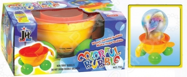 Игрушка для пускания мыльных пузырей JH 1707201