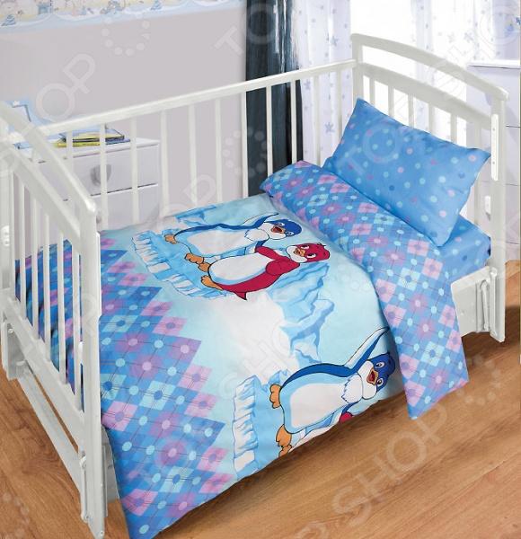 Детский комплект постельного белья Непоседа Лоло и Пепе постельное белье непоседа комплект постельного белья детский бязь пингвинчики