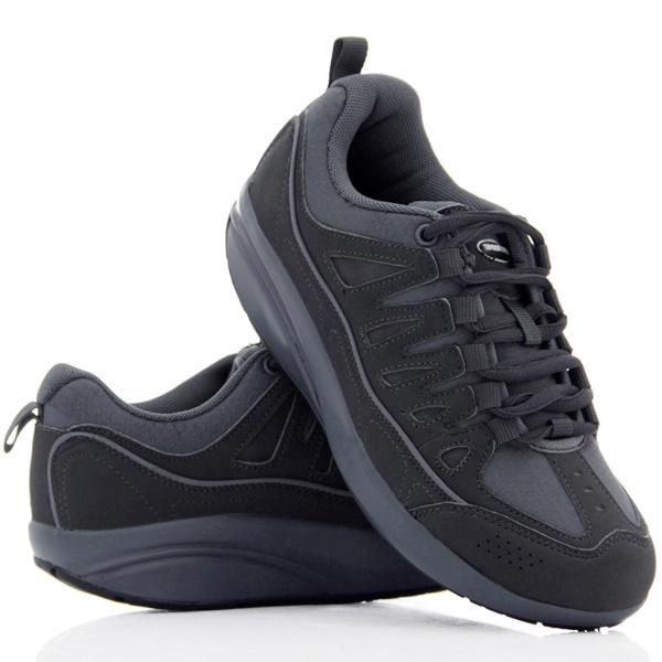 Кроссовки Walkmaxx Фитнес. Цвет: серыйКроссовки. Кеды. Мокасины<br>Кроссовки Walkmaxx Фитнес улучшат вашу осанку, приведут в тонус ваши мышцы и помогут вам чувствовать себя лучше. Всего лишь пол часа в день в обуви Вокмакс могут изменить вашу жизнь. Главное преимуществ обуви состоит в округлой подошве, которая обеспечивает комфорт, гибкость и естественную качающуюся поддержку движения. За счет этой подошвы, достигается эффект естественного покачивания, поэтому вес вашего тела равномерно распределяется, давление на ноги, суставы, спину и бедра уменьшается. Мягкие подушки для пяток создают дополнительный комфорт и амортизацию. Каждый ваш шаг будет легким. У вас будет ощущение того что вы ходите босиком. Когда вы носите обувь Walkmaxx Фитнес, ваши мышцы укрепляются, и улучшается координация. Благодаря Walkmaxx Фитнес вырабатывается правильная походка. Потому что задействованы пятка, свод стопы и даже пальцы. Они делают каждый шаг легким, что очень важно. А также Вокмакс поддерживают и улучшают баланс вашего тела. 4 сантиметровый подъем подошвы позволяет снять основную нагрузку со спины и суставов. Вокмакс поддерживают баланс вашего тела. А это значит, что они помогут укрепить и подтянуть икры, бедра, ягодицы и мышцы живота. Уникальные свойства кроссовок Walkmaxx Фитнес:  Модный дизайн, сделанный из улучшенной резины EVA для дополнительной амортизации  Округленная подошва гарантирует раскачивающуюся поддержу  Очень удобные и легкие, ощущение что шагаете по мягкому песку  Мягкие подушки на месте пяток обеспечат комфорт  4 сантиметровый подъем подошвы позволяет снять основную нагрузку со спины и суставов  Улучшают положение ног и крепко держатся на лодыжке.<br>
