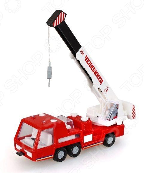 Машинка игрушечная Форма «Автокран СМ»