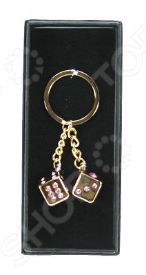 Брелок для ключей «Кости»Брелоки<br>Брелок для ключей Кости небольшой, оригинально выполненный брелок, украшенный кристаллами. Его можно использовать для поддержки ключей, или как ретро-аксессуар. Им можно украсить часть интерьера, сумку или рюкзак. Также станет отличным подарком для ваших друзей и коллег.<br>