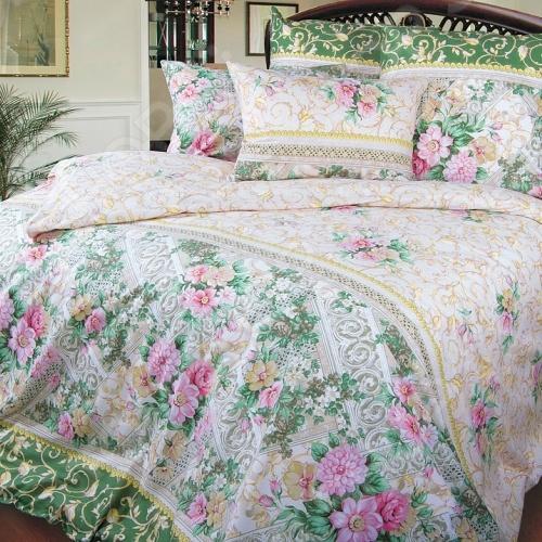 Комплект постельного белья ТексДизайн «Римский дворик». СемейныйСемейные<br>Комплект постельного белья ТексДизайн Римский дворик это незаменимый элемент вашей спальни. Человек треть своей жизни проводит в постели, и от ощущений, которые вы испытываете при прикосновении к простыням или наволочкам, многое зависит. Чтобы сон всегда был комфортным, а пробуждение приятным, мы предлагаем вам этот комплект постельного белья. Приятный цвет и высокое качество комплекта гарантирует, что атмосфера вашей спальни наполнится теплотой и уютом, а вы испытаете множество сладких мгновений спокойного сна. Комплект сшит из перкали прочной, тонкой и мягкой ткани. У такой ткани есть ряд преимуществ:  плотная ткань гарантирует длительный срок службы;  приятна на ощупь;  не деформируется и не теряет цвет даже после многочисленных стирок.<br>
