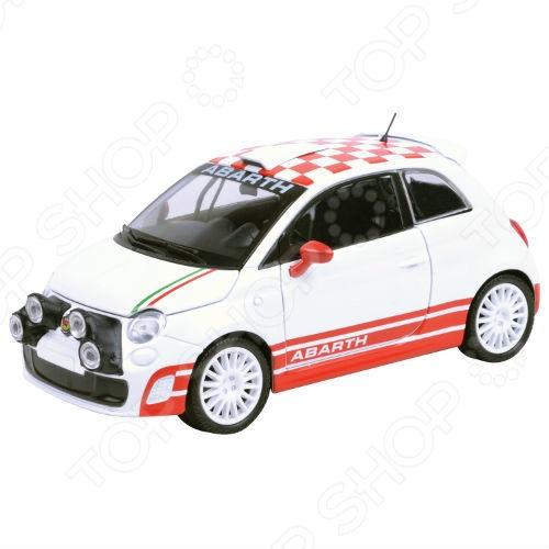 Модель автомобиля 1:24 Motormax Abarth 500 R3T motor max 1 24 abarth 500 r3t 73379