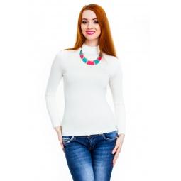фото Водолазка Mondigo 036. Цвет: белый. Размер одежды: 44