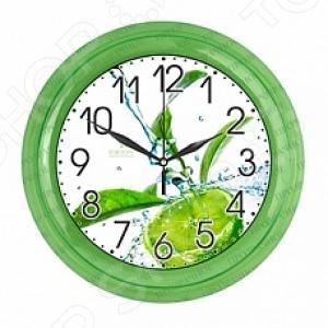 Часы настенные Вега П 6-3-103 «Коктейль Мохито»