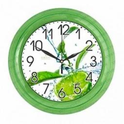 Купить Часы настенные Вега П 6-3-103 «Коктейль Мохито»