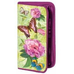 фото Пенал Проф-Пресс «Пионы и бабочки»