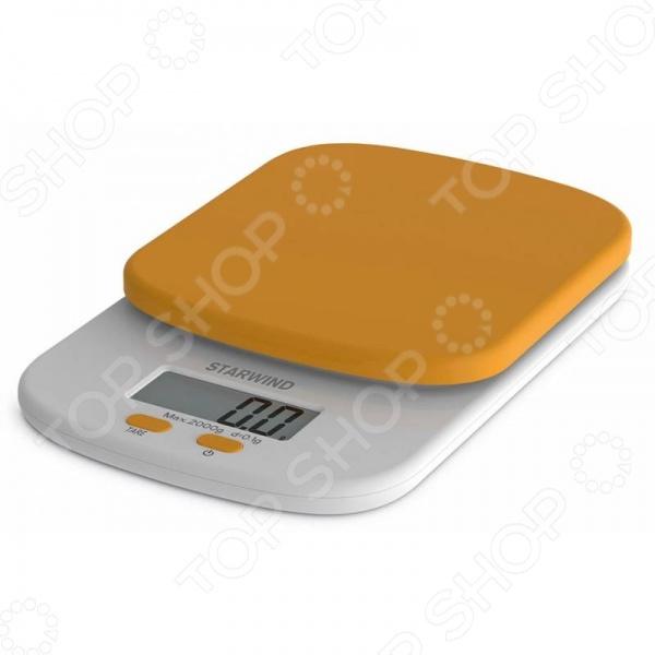 Весы кухонные StarWind SSK2158 весы starwind ssp5452 черный ssp5452