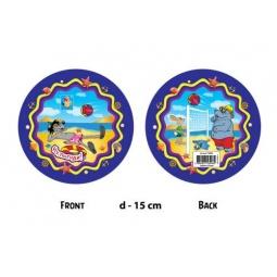 Купить Мяч детский 1toy «Волк и бегемот на пляже» Т56948