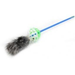 Купить Игрушка-дразнилка для кошек ЗООНИК с мехом. В ассортименте