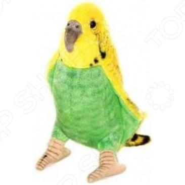 Мягкая игрушка для ребенка Hansa «Волнистый попугайчик зеленый»
