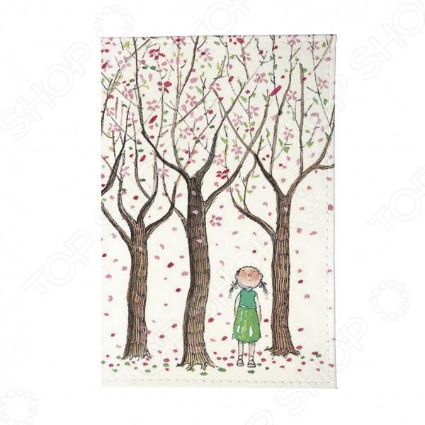 Визитница Mitya Veselkov «Цветущие яблони»