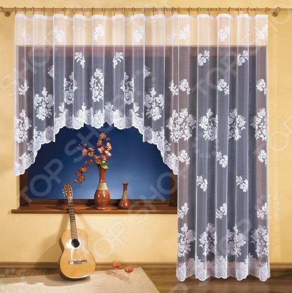 Комплект гардин для окна с балконом Wisan 3254