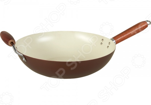 Сковорода вок POMIDORO W3347Сковорода-вок POMIDORO W3347 станет отличным дополнением к набору ваших кухонных принадлежностей. Сегодня такие сковороды приобретают все большую популярность как у простых домохозяек, так и у профессиональных кулинаров. Они достаточно функциональны и удобны в использовании. Вок совмещает в себе функции сковороды и казана, подходит для жарки, тушения и пассерования продуктов. Посуда выполнена из высококачественных материалов и снабжена керамическим покрытием Kerano. Данное покрытие не содержит в своем составе, вредную для здоровья, перфоктановую кислоту PTFE , не вступает в реакции с продуктами и не искажает вкус приготовленных блюд. Стальное индукционное дно обеспечивает быстрый и равномерный прогрев сковороды.<br>