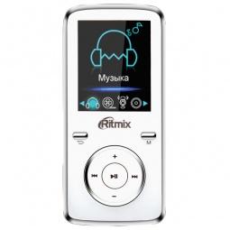 фото MP3-плеер Ritmix RF-4950. Цвет: белый. Встроенная память: 8 Гб