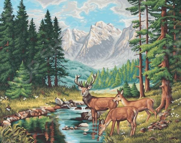 Набор для рисования по номерам Schipper «Горный пейзаж»