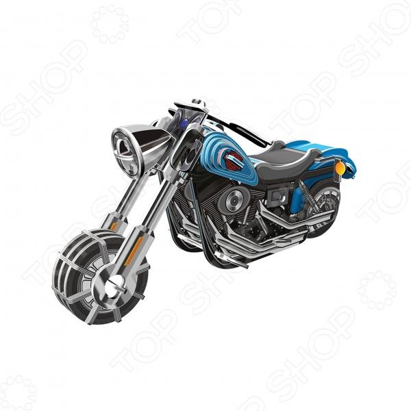 3D Пазл с моторчиком IQ Puzzle МотоциклПазлы 3D<br>3D Пазл с моторчиком IQ Puzzle Мотоцикл - замечательный подарок для вашего ребенка. Работа с пазлом способствует развитию моторики и логического мышления, расширяет кругозор ребенка, приучает его к аккуратности и делает более усидчивым. С помощью этого набора, ребенок сможет своими руками собрать мотоцикл с моторчиком , с которым можно будет играть с друзьями. Игрушка изготовлена из качественного пластика, имеет высокую степень детализации и оснащена надёжным инерционным механизмом. В комплект входят 42 детали.<br>