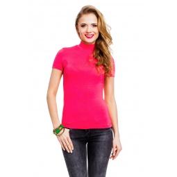 фото Водолазка Mondigo 037. Цвет: ярко-розовый. Размер одежды: 44