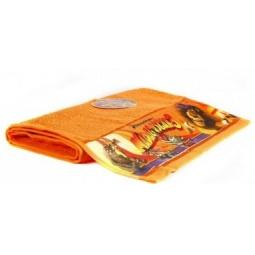 фото Полотенце махровое Непоседа «Мадагаскар. Глория». Размер полотенца: 130х60 см. Цвет: оранжевый