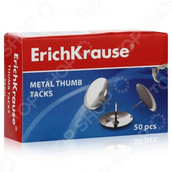 Кнопки канцелярские Erich Krause 7851 станут отличным дополнением к набору ваших канцелярских принадлежностей. Изделия металлические, выполнены в виде маленьких гвоздиков с круглыми шляпками и предназначены для прикрепления листов бумаги на доски объявлений, стены и т.д. В комплекте 50 кнопок.