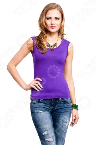 Майка Mondigo 326. Цвет: фиолетовый
