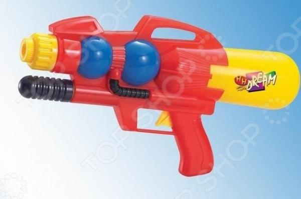 Пистолет водный 1719294Водные пистолеты<br>Пистолет водный 1719294 яркий водный пистолет, готовый стать прекрасным развлечением для вас и ваших детей в жаркий солнечный день лета. Для его использования не требуется много усилий просто залейте в емкость воду, после чего пистолет готов стрельбе. Он достаточно мощный, поэтому струя доходит довольно далеко. Приятного времяпрепровождения!<br>