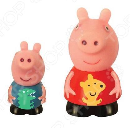 Набор фигурок-игрушек Росмэн «Пеппа и Джордж»Фигурки супергероев и других персонажей<br>Набор фигурок-игрушек Росмэн Пеппа и Джордж это замечательный подарок для вашего малыша. В комплект входят два персонажа из любимого мультфильма. Фигурки выполнены с высокой степенью детализации, что увеличивает их сходство с прототипами. Забавные зверюшки откроют новые сюжеты и разнообразят игровые ситуации. Набор Росмэн Пеппа и Джордж способствует развитию зрительной координации, воображения и мелкой моторики рук. Кроме того, тренируется наблюдательность, образное восприятие и логическое мышление. Игрушки изготовлены из пластизоля, который абсолютно безопасен для здоровья ребенка. Фигурки из такого материала не сломаются и не разобьются, а вечером их можно взять с собой в ванную.<br>
