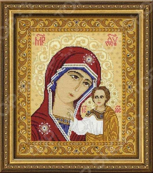 Набор для вышивания с бисером Riolis «Богоматерь Казанская»
