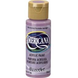 фото Краска акриловая DecoArt Премиум Americana. Цвет: дикая орхидея