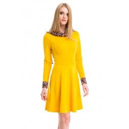 фото Платье Mondigo 5153-1. Цвет: горчичный