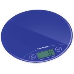 фото Весы кухонные Rolsen KS-2906. Цвет: синий