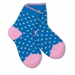 фото Носки детские Teller Polka Dot. Цвет: синий. Размер: 23-26