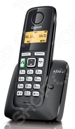 Радиотелефон Gigaset A220 AM телефон dect gigaset l410 устройство громкой связи