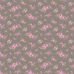 фото Отрез ткани Tilda Мелкие розы. Цвет: серый
