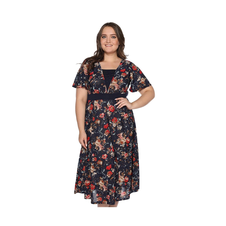7a0e3c7dca5 Платье Матекс «Иллюзия солнца». Цвет  красный купить по низкой цене ...