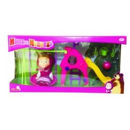фото Кукла с аксессуарами Simba «Маша с детской игровой площадкой»