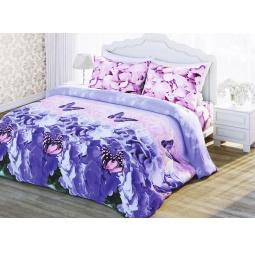 фото Комплект постельного белья Комфорт «Цветение лета». 2-спальный